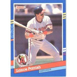 1991 Donruss 135 Lance Parrish UER