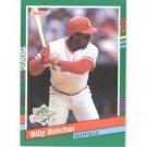 1991 Donruss 763 Billy Hatcher WS UER