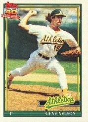 1991 Topps 316 Gene Nelson