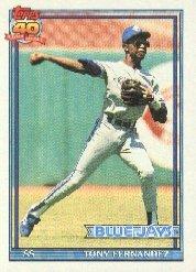 1991 Topps 320 Tony Fernandez