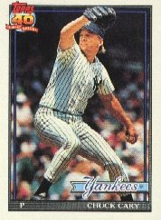1991 Topps 359 Chuck Cary