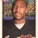 1991 Topps 758 Mike Devereaux