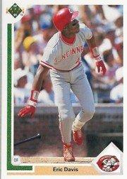 1991 Upper Deck 355 Eric Davis