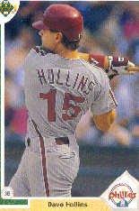 1991 Upper Deck 518 Dave Hollins