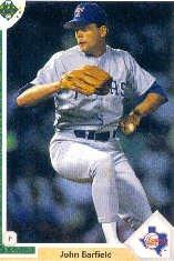 1991 Upper Deck 629 John Barfield