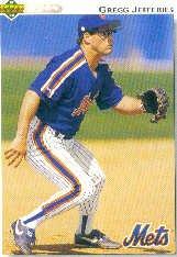1992 Upper Deck 133 Gregg Jefferies