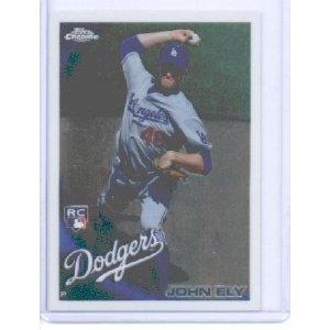 2010 Topps Chrome 179 John Ely RC