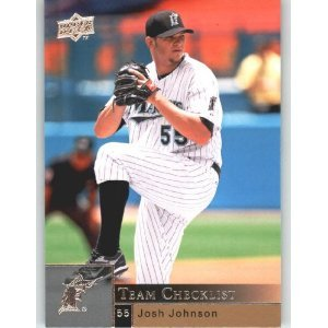 2009 Upper Deck 975 Josh Johnson CL
