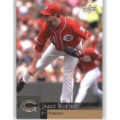 2009 Upper Deck 606 Jared Burton