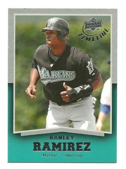 2008 Upper Deck Timeline 6 Hanley Ramirez