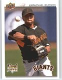 2008 Upper Deck Timeline 112 Emmanuel Burriss 92 ML RC