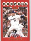 2008 Topps Opening Day 67 Ben Sheets