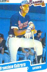 1990 Fleer Update #2 Francisco Cabrera