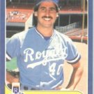 1986 Fleer # 4 Bud Black