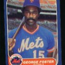 1986 Fleer #80 George Foster
