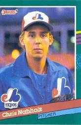 1991 Donruss #667 Chris Nabholz