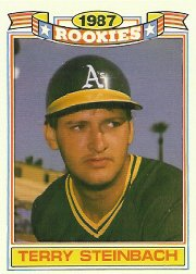 1988 Topps Rookies #15 Terry Steinbach