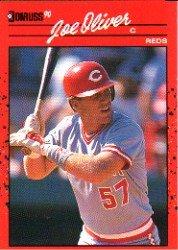 1990 Donruss 586 Joe Oliver