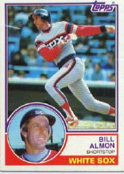 1983 Topps 362  Billy Almon