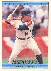 1992 Donruss 75 Craig Biggio