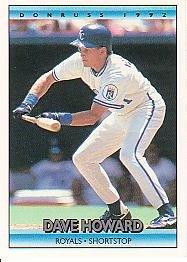1992 Donruss 567 Dave Howard