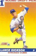 1991 Score 385 L.Dickson FDP - Rookie Card (RC)