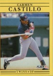 1991 Fleer 606 Carmelo Castillo