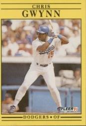 1991 Fleer 202 Chris Gwynn