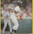 1991 Fleer 123 Lance Johnson UER