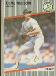 1989 Fleer #18 Gene Nelson