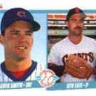 1990 Fleer 643 Greg Smith/Stu Tate RC