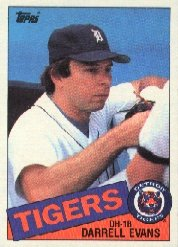 1985 Topps #792 Darrell Evans