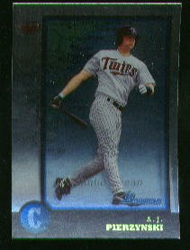 1998 Bowman International #319 A.J. Pierzynski