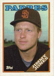 1988 Topps 63 Jimmy Jones
