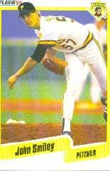 1990 Fleer 480 John Smiley