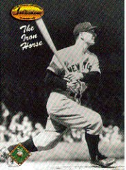1993 Ted Williams #122 Lou Gehrig