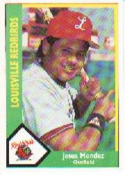 1990 Louisville Red Birds CMC #18 Jesus Mendez