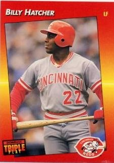 1992 Donruss Triple Play Baseball #222 Billy Hatcher