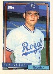 1992 Topps #342 Tim Spehr