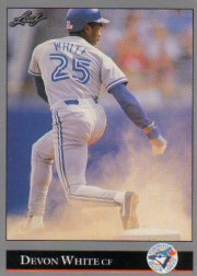 1992 Leaf #114 Devon White