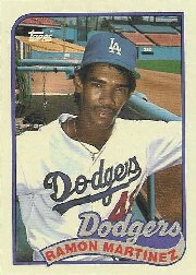 1989 Topps #225 Ramon Martinez RC