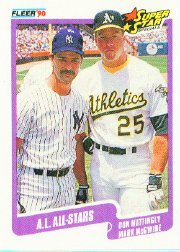 1990 Fleer #638 Don Mattingly
