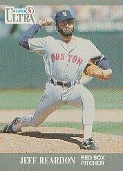 1991 Ultra #40 Jeff Reardon