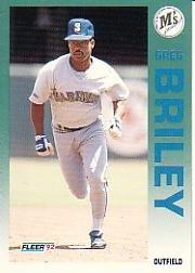1992 Fleer #274 Greg Briley