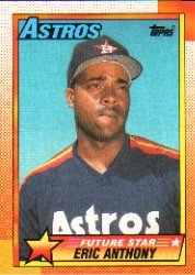 1990 Topps #608 Eric Anthony RC