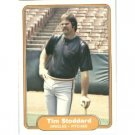 1982 Fleer 181 Tim Stoddard