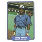 1982 Fleer 211 Jerry White