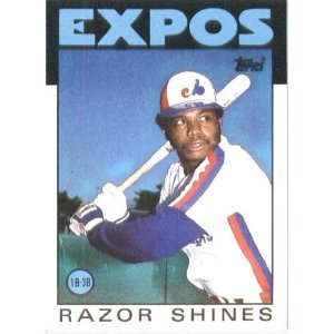 1986 Topps 132 Razor Shines