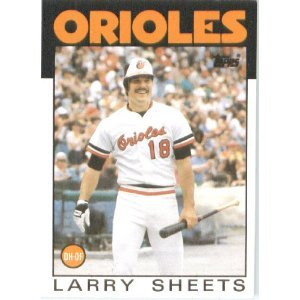 1986 Topps 147 Larry Sheets