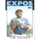 1986 Topps 280 Tim Raines
